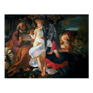 Rest on the Flight into Egypt, Caravaggio Postcards
