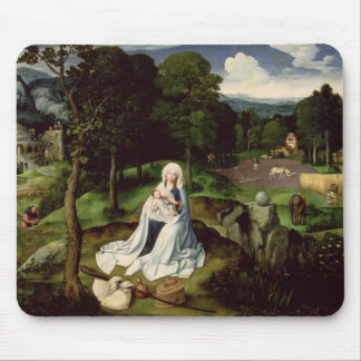Rest on the Flight into Egypt Mouse Mat