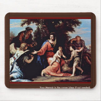 Rest On The Flight Into Egypt With Saint John The Mouse Pads