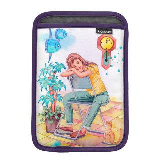 Rest time iPad mini sleeve