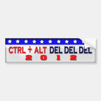 Restart 2012 bumper sticker