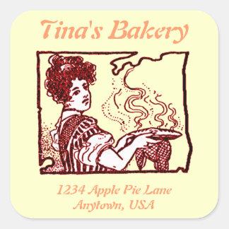 Restaurant Bakery Retail Sticker