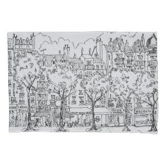 Restaurant Boulevard Montparnasse | Paris, France Pillowcase