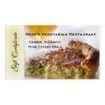 Restaurant Gift Certificate or Gift Voucher