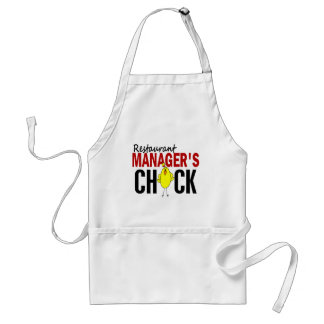 RESTAURANT MANAGER'S CHICK ADULT APRON