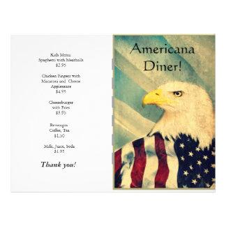 Restaurant Supplies Americana 21.5 Cm X 28 Cm Flyer