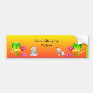 Restaurant Supplies, Baby Changing Station Sticker