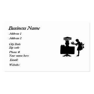 Restaurant Supplies Business Cards