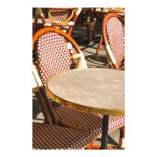 Restaurant table stationery