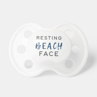 Resting Beach Face Pacifier