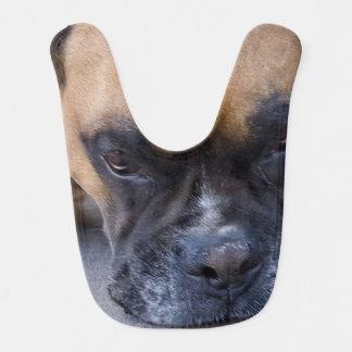 Resting Boxer Dog Bib