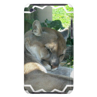 Resting Cougar iTouch Case Barely There iPod Cover