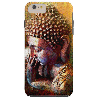 Resting golden Buddha Tough iPhone 6 Plus Case