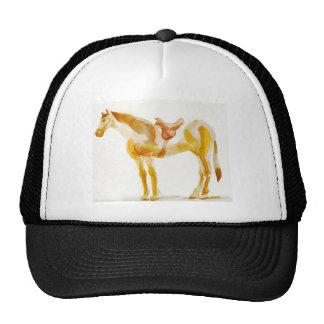 resting horse cap