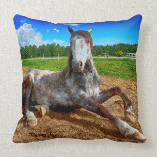 Resting Horse Pillow