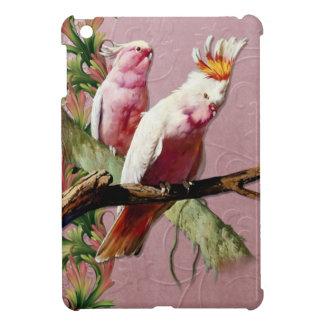Resting Pink Cockatoos iPad Mini Cases