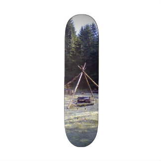 Resting place in the forest skate board