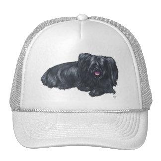 Resting Skye Terrier Mesh Hat