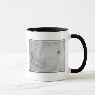 Resting stag mug