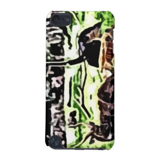 resting wild animals painting iPod touch 5G case