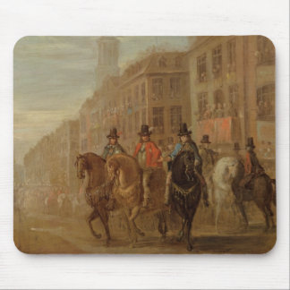 Restoration Procession of Charles II at Cheapside, Mouse Mat