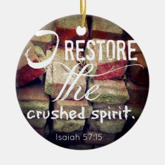 Restore Christmas Tree Ornaments