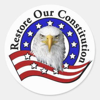 Restore Our Constitution Sticker
