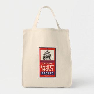 Restore Sanity Grocery bag