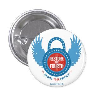 Restore The Fourth... 3 Cm Round Badge