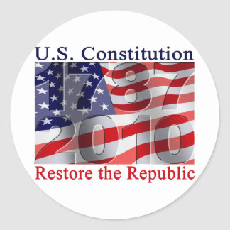 Restore the Republic stickers