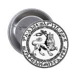 Restore the Solomonic Monarchy! 6 Cm Round Badge