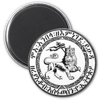 Restore the Solomonic Monarchy! 6 Cm Round Magnet