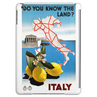 Restored Italy Vintage Travel Poster