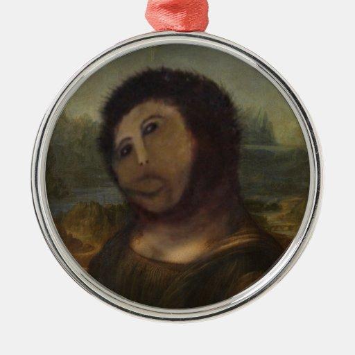 restored Mona Lisa Ornament
