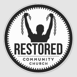 Restored Sticker (Breaking Chains)