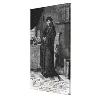 Restorer of the Latin language' Canvas Prints