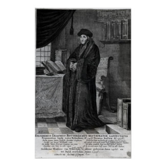 Restorer of the Latin language' Print