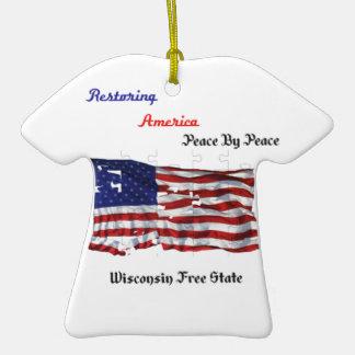 Restoring America - The Republic Christmas Tree Ornament