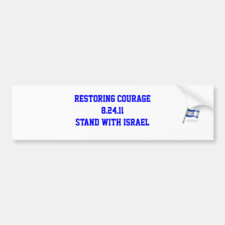 Restoring Courage Bold Bumper Sticker
