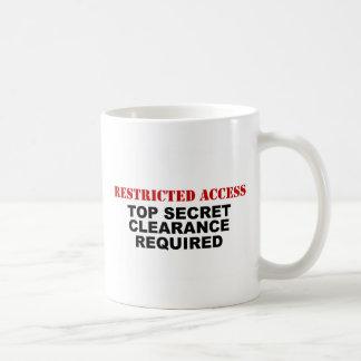 Restricted Access Coffee Mug