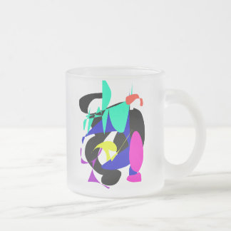 Restriction Is the Father of Happiness Frosted Glass Mug