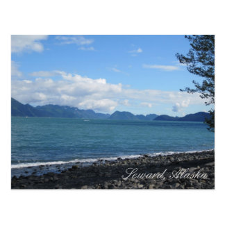 Resurrection Bay in Seward, Alaska Postcard