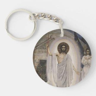 Resurrection by Hans Memling Acrylic Key Chain