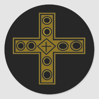 Resurrection Cross Sticker