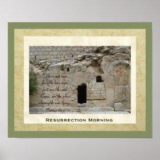 """Resurrection Morning"" Poster"