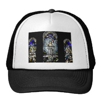 Resurrection of Jesus Stained Glass Window Cap