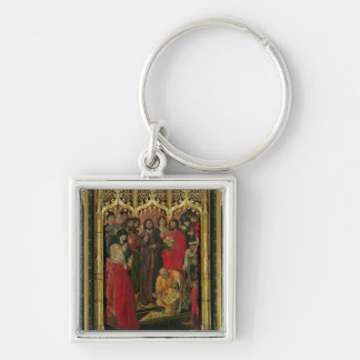 Resurrection of Lazarus Triptych; The Raising of L Key Ring