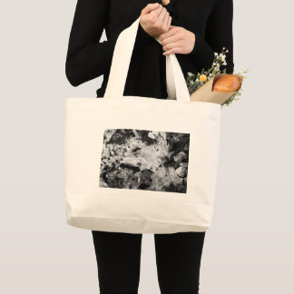 resurrection of the frozen knight large tote bag