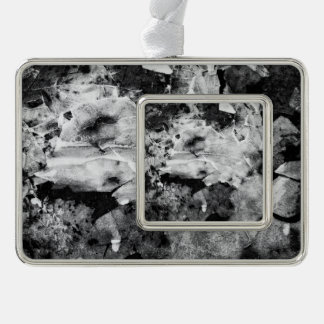 resurrection of the frozen knight silver plated framed ornament