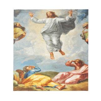 Resurrection scene in Vatican, Rome Notepad